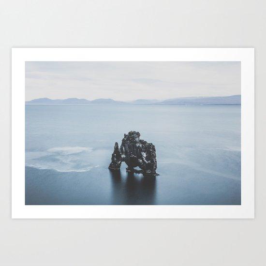 Hvitserkur, Iceland III Art Print
