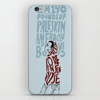 stiles iPhone & iPod Skins featuring Stiles Stilinski by MENELLAOS