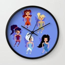 Fées Wall Clock