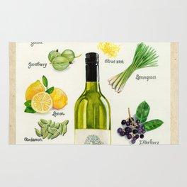 WHITE WINES - Flavors in Sauvignon Blanc Rug