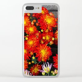Chinese New Year Flowers Clear iPhone Case