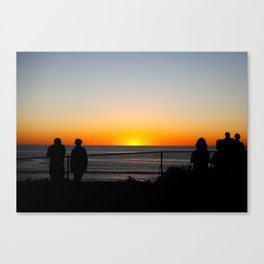 Calming Sunset Canvas Print