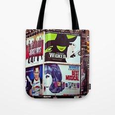 New York City Broadway Signs Tote Bag