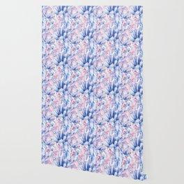 Watercolor crystals Wallpaper