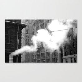 Urban Steam Canvas Print