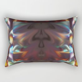 DEMONS FIGHTING Rectangular Pillow