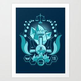 Bad King Art Print