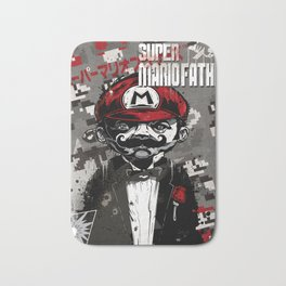 Super Mario Father Bath Mat