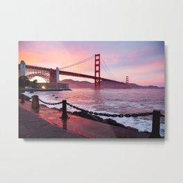 San Francisco Golden Gate Brige Metal Print