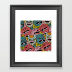 GhoulieBall Framed Art Print