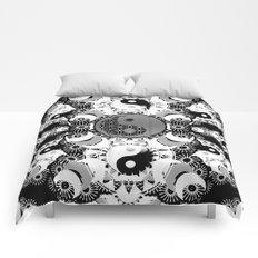 YinYang Sacred Geometry Totem Comforters