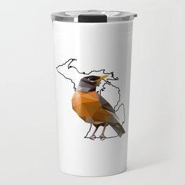 Michigan – American Robin Travel Mug