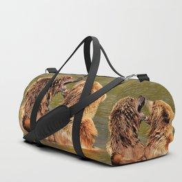 Brown Bears Duffle Bag