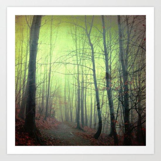 mystery walk Art Print