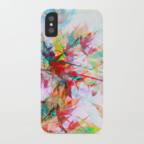 Abstract Autumn iPhone Case