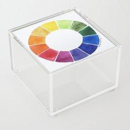 Color Wheel Acrylic Box