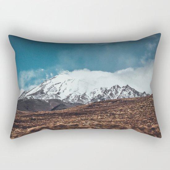 Vintage Landscape Rectangular Pillow
