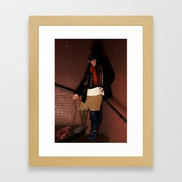 Rein It In - Captain Kidd Framed Art Print