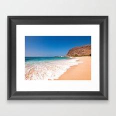 Makaha Beach Framed Art Print