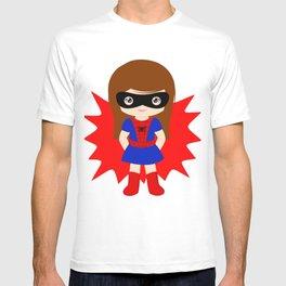 Superhero woman T-shirt