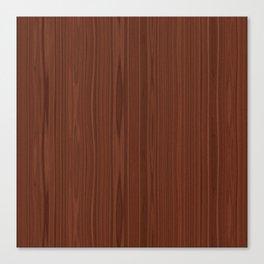 Walnut Wood Texture Canvas Print