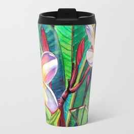 Plumeria Garden Travel Mug
