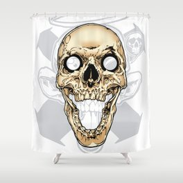 Skull 002 Shower Curtain