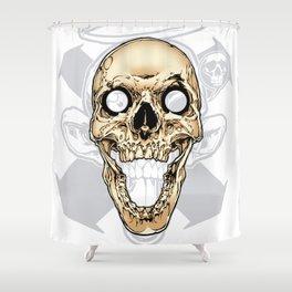 Skull 002 Shower Curtain