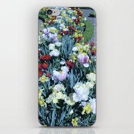 Flowers at Versailles  iPhone Skin