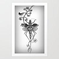 grasshopper * Art Print