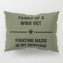 WWII Family Heritage Pillow Sham