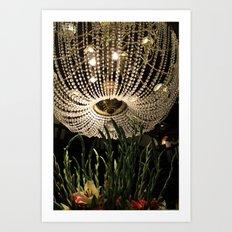 Hotel Del Coronado Chandelier  Art Print