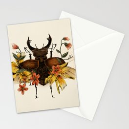 Blooming Beetle Stationery Cards