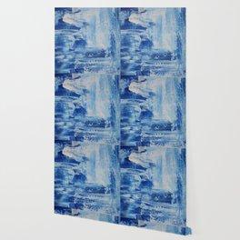 Blue Mess Wallpaper