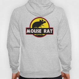 mouse rat logo jurasic parody Hoody