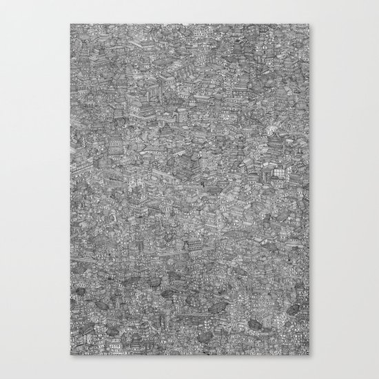 The Great City Canvas Print