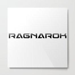 Ragnarok logo fun Metal Print