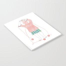 Knitster Girl Turtleneck Notebook