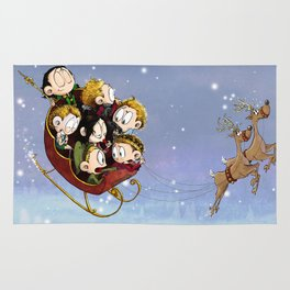 Little Hiddles Christmas Time Rug