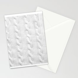 Cable Knit Stationery Cards