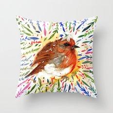 BIRD ORNAMENTAL Throw Pillow