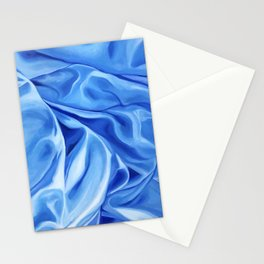 Blue Abstract Painting  Stationery Cards