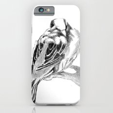 Cute Fluffy Bird Sleeping iPhone 6s Slim Case