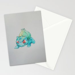 Pocket Monster Watercolor Stationery Cards