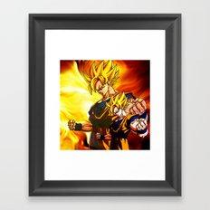 son goku Framed Art Print