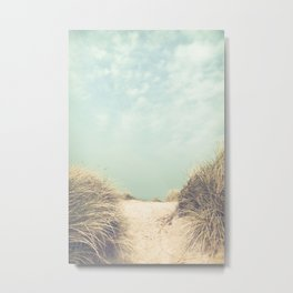 The Way To The Beach Metal Print