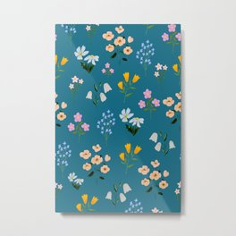 TINY FLOWER Metal Print