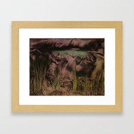 10063 Framed Art Print