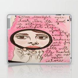 Beautiful Audrey  Laptop & iPad Skin