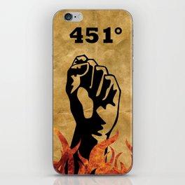 Fahrenheit 451 - Ray Bradbury iPhone Skin